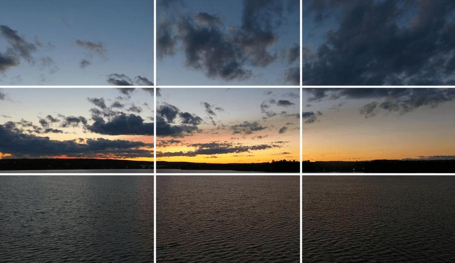 расположен поселке как настроить линии горизонта в фотоаппарате картина разделила два