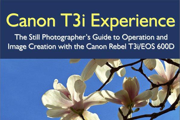 Canon T3i / 600D Camera eBook