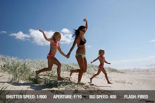 Beach Photography - Fun on the beach