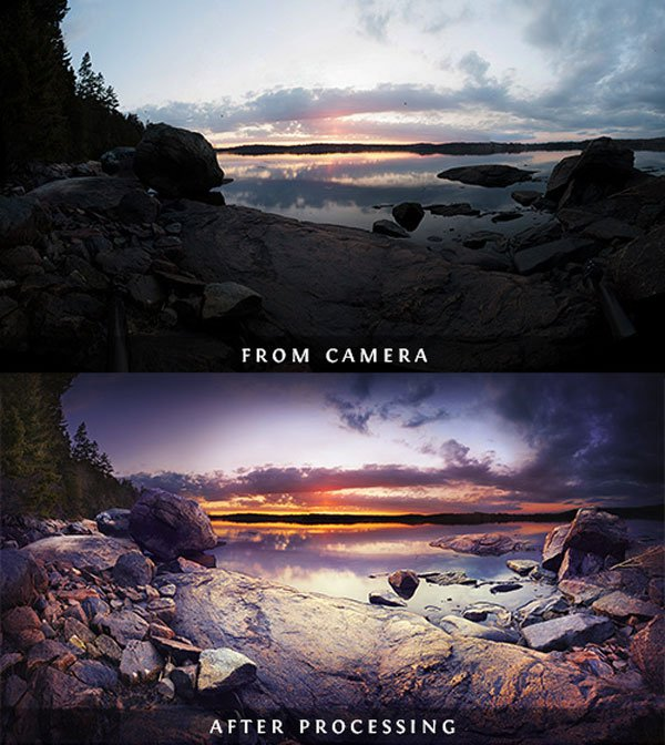 Before & After Image Processing