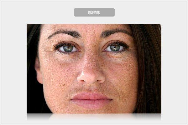 Before Skin Retouching