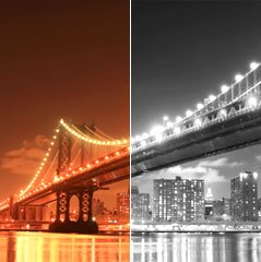 Black and White Image Editing Techniques