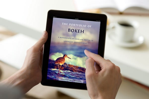Bokeh eBook viewed on iPad