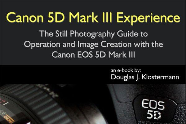 Canon 5D Mark III Camera eBook