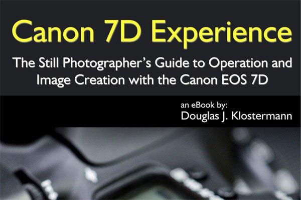 Canon EOS 7D Camera eBook