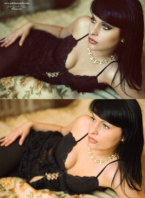 Glamour Photography Retouching Results