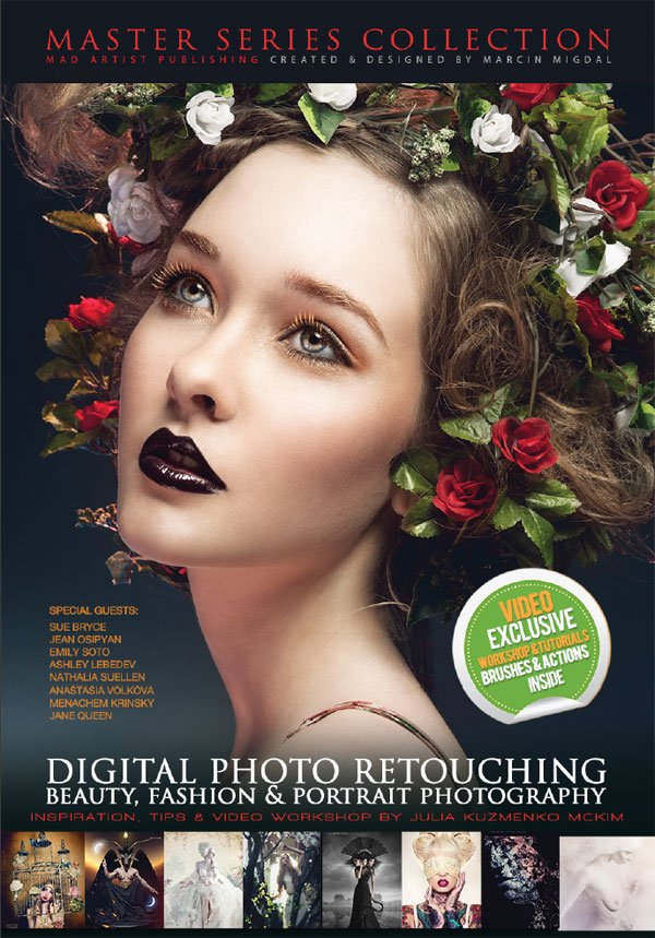 Digital Photo Retouching eBook Cover