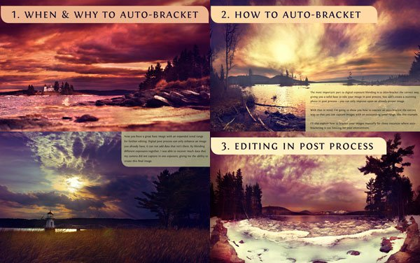 The Exposure Blending eBook Sample Pages