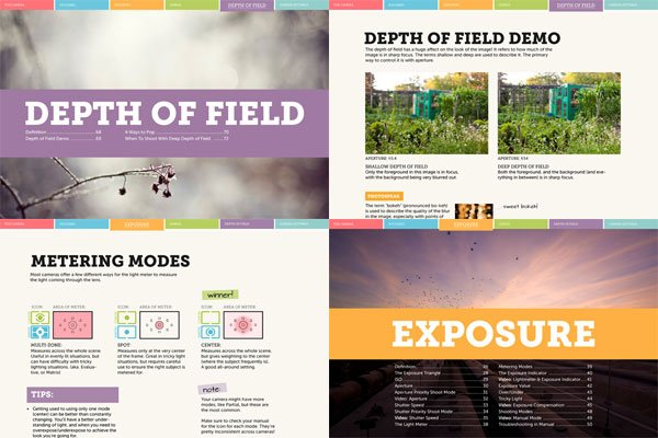 Sample Pages from Extremly Essential Camera Skills eBook