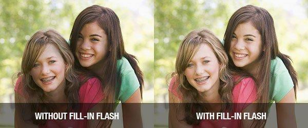 Fill-in Flash