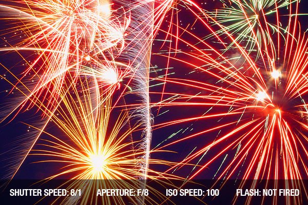 Photographing Fireworks - A beautiful full display of fireworks