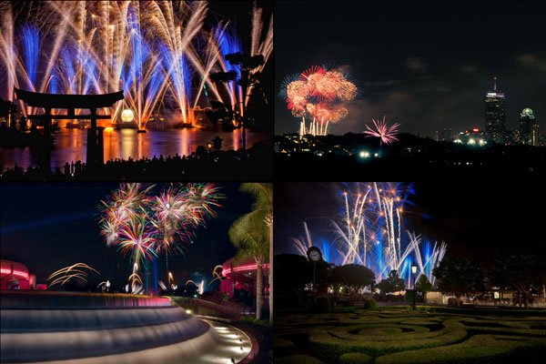 Fireworks Photography eBook Samples