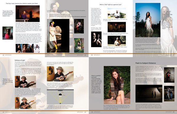 Flash Photography eBook Samples
