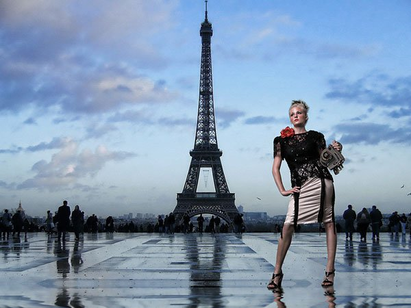Portrait Photography in Paris with Flash