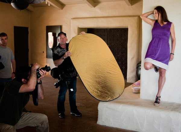 Model Photography with Flash