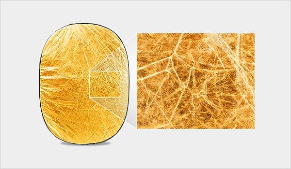 Gold Board Reflector