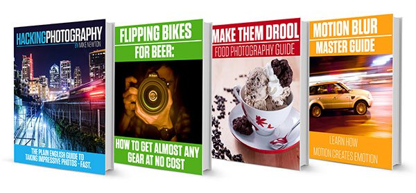 ebook covers - Hacking Photography