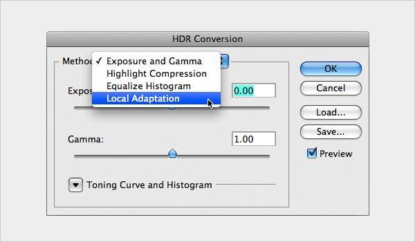 HDR Conversion Technique Step 4