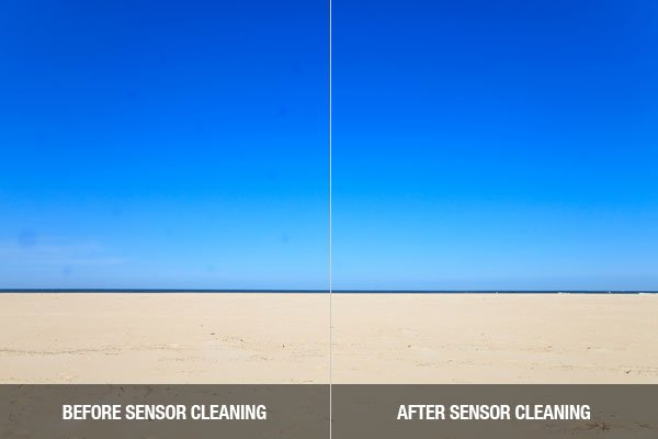 Image Sensor Cleaning Comparison