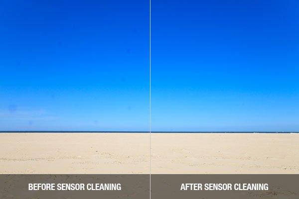 Image Sensor Cleaning Comparison