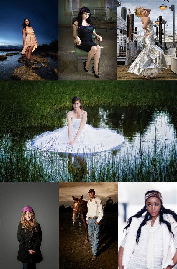 Flash Portrait Photography Samples