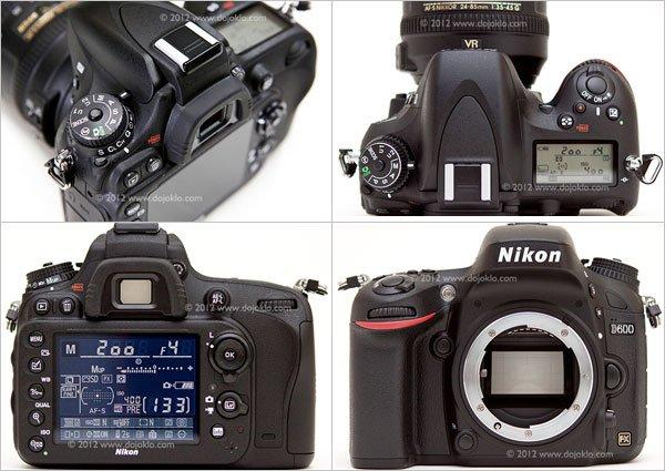 Nikon D600 Camera Body