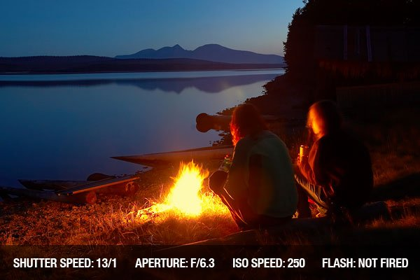 Outdoor Photography Campfire