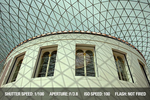 Architectural Photography - Great Court British Museum