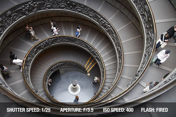 Architectural Photography - Vatican Stairs