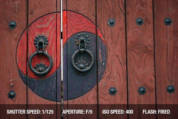 Architectural Photography - Zen Door