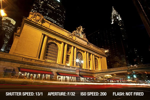 Architectural Photography - New York City at night