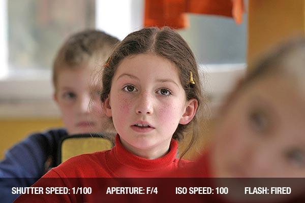Children in the classroom