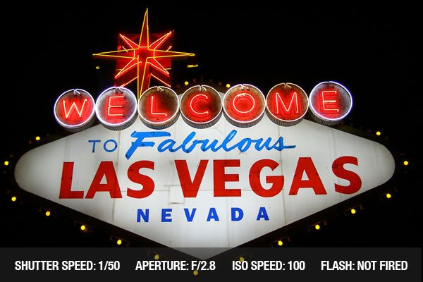 The famous Welcome to Fabulous Las Vegas, Nevada sign on the Las Vegas strip