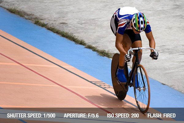 Individual cycling time trials at a velodrome