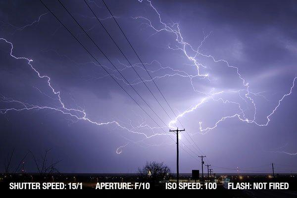 Lightning weather bolt thunder storm