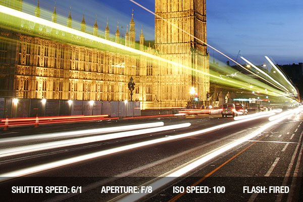Long exposure photography of Big Ben