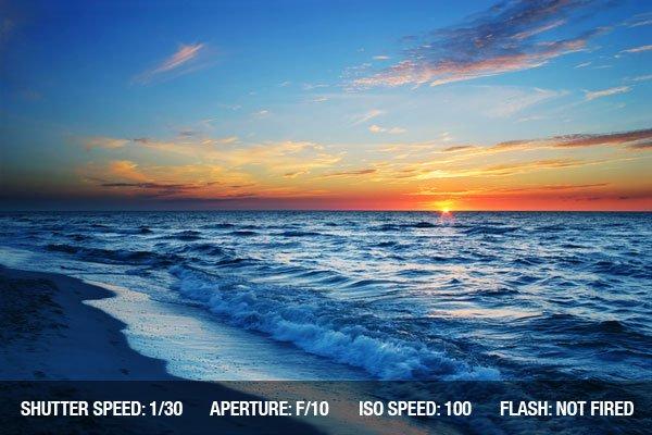 Seascape photograph