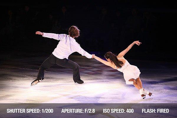 Professional figure skaters