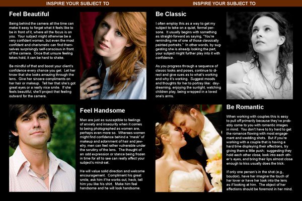 Portrait Photography eBook Samples