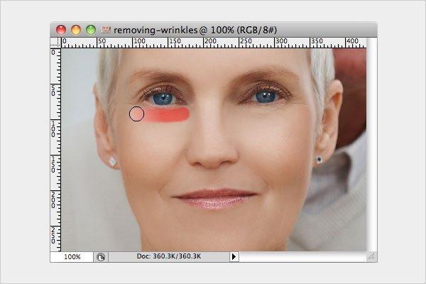 Removing Wrinkles Step 5