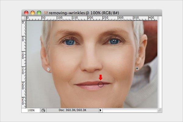 Removing Wrinkles Step 6