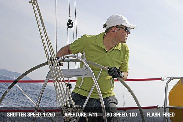 Regatta sailing action in Meditarranean sea in Croatia.