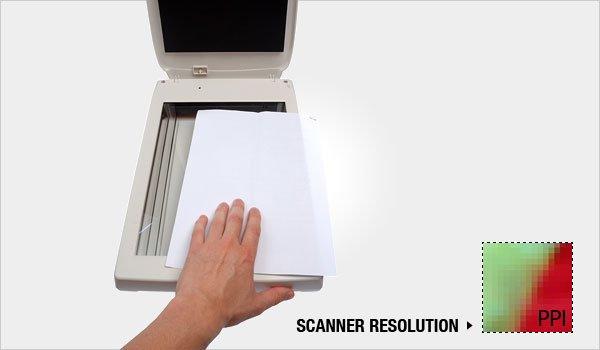 Scanner Ressolution