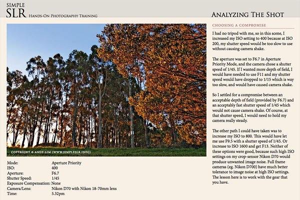 Hands-on Photography Training eBook