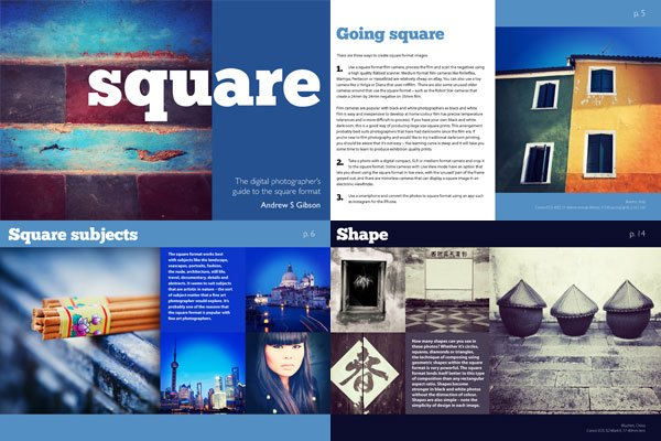 Square Photography eBook sample pages