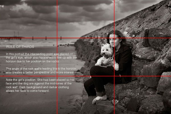 Timeless Portrait Photography Ebook - The Rule of Thirds