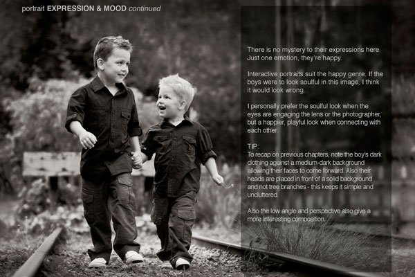 Photography Ebook on Portrait Expression and Mood