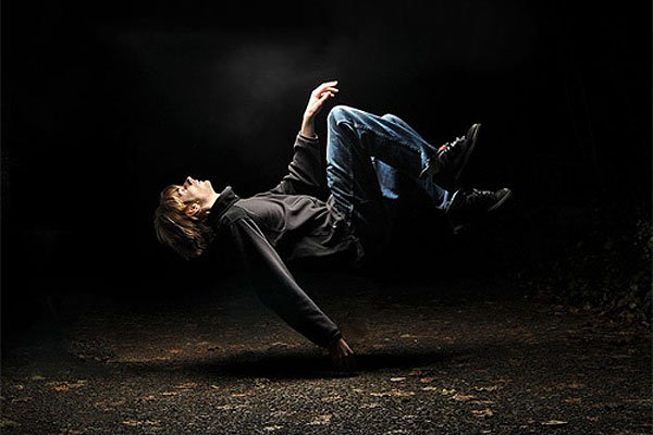 Awesome floating photography effect