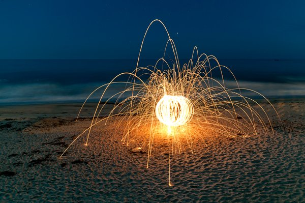 Steel Wool Trick Photography