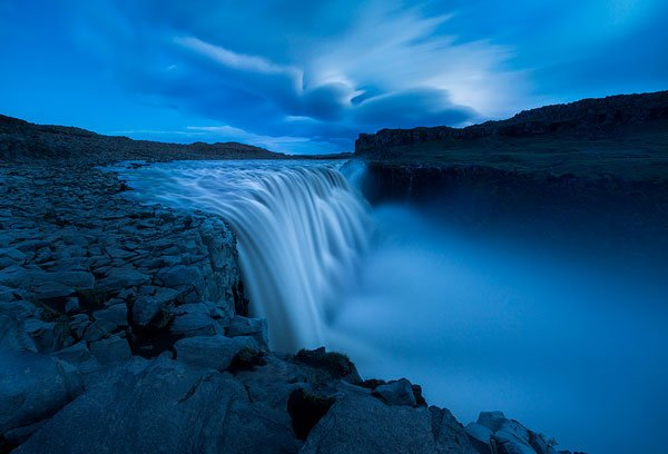 Composition of Waterfalls
